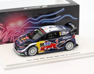 Ford Fiesta WRC M-Sport Ford WRT #1 Winner Rally Tour de Corse 2018 S. Ogier - J. Ingrassia