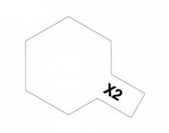 X-2 White (краска эмалевая, белый глянцевый), 10мл.