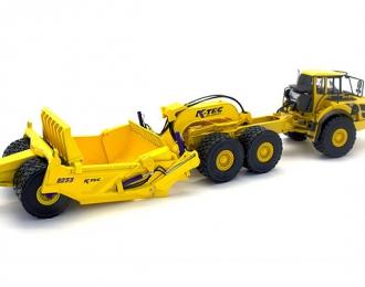 K-Tec 1233 Scraper, yellow