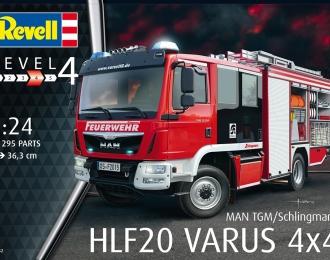 Сборная модель Пожарная машина Schlingmann HLF 20 VARUS 4x4
