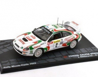 "TOYOTA Celica GT-Four ""Castrol Team"" #2 Kankkunen/Grist 3 место Rally Monte-Carlo 1995"