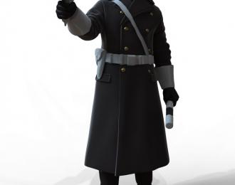 Сборная модель Фигура Инспектор ГАИ №5