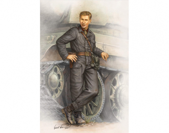 Сборная модель Советский танкист 1942 г.