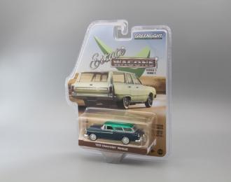 CHEVROLET Nomad 1955 Blue/Beige (Greenlight!)