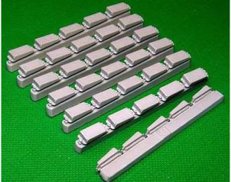 """Блоки ДЗ """"Контакт-3"""" тип -Б, 50шт Т-55,Т-62,Т-64,Т-72АВ,Т-72Б"""