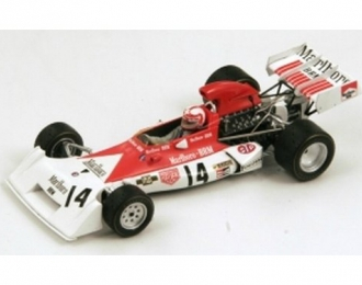 BRM P160D 14 6th Brazil GP 1973 Clay Regazzoni (F1), red