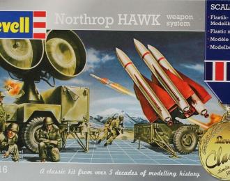 Сборная модель Northrop HAWK weapon system