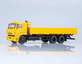 КАМАЗ-65117 бортовой (ранний), желтый
