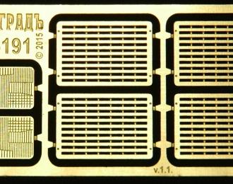 Фототравление Решётки радиаторные 7х10, ранние СуперМАЗы 1980-90е