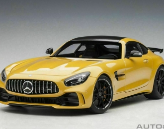 Mercedes-AMG GT-R V8 Biturbo 2017 (yellow)