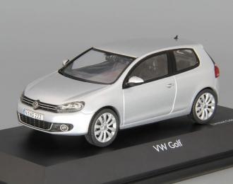 VOLKSWAGEN Golf VI 3-dr (2009), reflex silver
