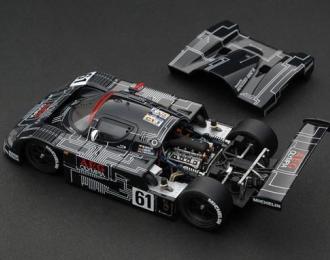Sauber Mercedes C9 #61 Mauro Baldi - Jochen Mass - James Weaver Le Mans (1988), black