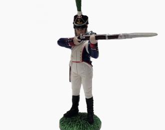 Фигурка Фузилер полка линейной пехоты, Франция, 1812-1815