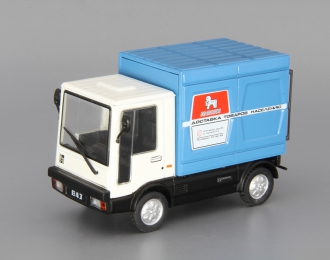 ВАЗ 2802 Пони фургон, Автолегенды СССР 140, белый / синий