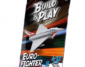 Сборная модель Многоцелевой истребитель Еврофайтер Тайфун
