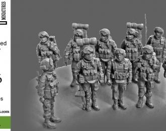 Сборная модель  Мотострелковое отделение