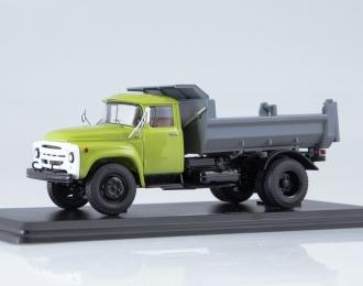 ЗИЛ-ММЗ-4505 самосвал, зеленый / серый