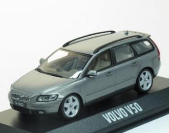 Volvo V50 2003 серый металлик