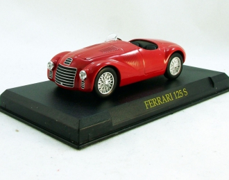 FERRARI 125 S, Ferrari Collection 23, red
