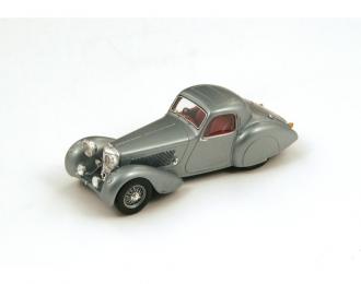 JAGUAR SS100 Coupe (1938), silver