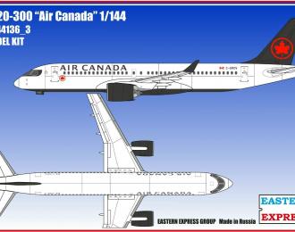 Сборная модель Авиалайнер А220-300 Air Canadian ( Limited Edition )