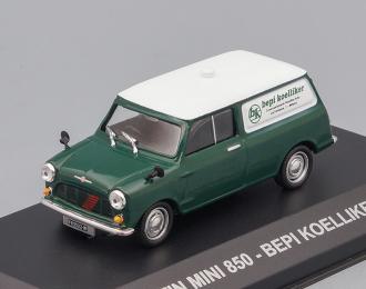 """AUSTIN MINI 850 """"BEPI KOELLIKER"""" 1968 Green/white"""