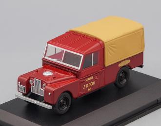 """LAND ROVER Series 1 109 """"British Railways"""" (1950), dark red"""