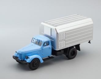 ЛуМЗ-890, Грузовики СССР 49, голубой / серебристый