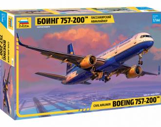 Сборная модель Пассажирский авиалайнер Боинг 757-200