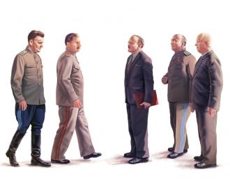 Сборная модель Сталин и Ко