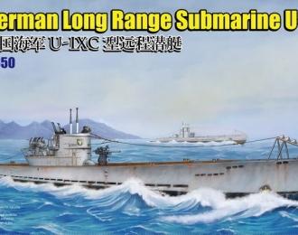 Сборная модель German Long Range Submarine Type U-IXC