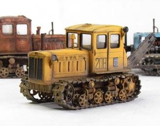 Т-74 поздний (желтый с барой)