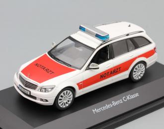 MERCEDES-BENZ C-Klasse Notarzt T-Modell, white