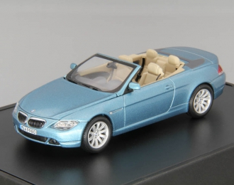BMW 6er Cabrio E64 (2004), atlantic blue metallic