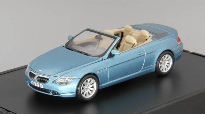 BMW 6er Cabrio E64 (2004), atlantic blue metallic
