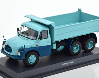 Tatra T138 Muldenkipper (turquoise/blue)