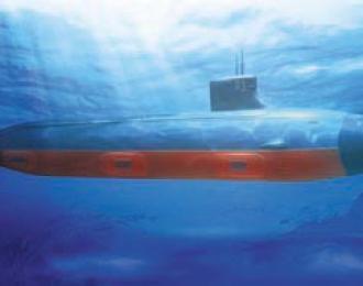 Сборная модель USS SSN-21/22 Seawolf-class  Attack submarine
