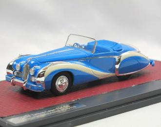 TALBOT-LAGO T26 GS Cabriolet Saoutchik #110110 (открытый) 1948 Blue