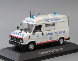 "CITROEN C25 Heuliez ""SAMU 76 PC Medical Ambulance"" (скорая медицинская помощь) 1984"