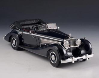 MAYBACH Zeppelin DS8 Cabriolet Wagner-Spohn (открытый) 1933 Black