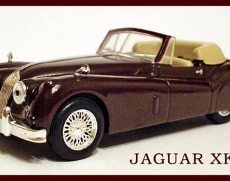 JAGUAR XK 140, Чешская серия Superauta, brown