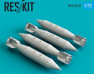 RBK-250-275 AO-1 Cluster boMERCEDES-BENZ (4 pcs) (Su-7, Su-17, Su-22, Su-24, Su-25, Su-34, MiG-21, MiG-27)