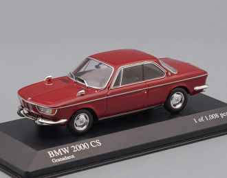 BMW 2000 CS Coupe Type 121 (1967), dark red