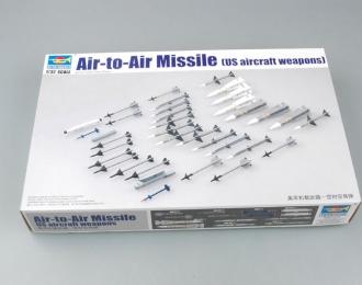 Сборная модель Набор американских ракет класса воздух-воздух