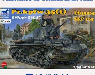 Сборная модель German Pz.Kpfw. 35(t) Light Tank