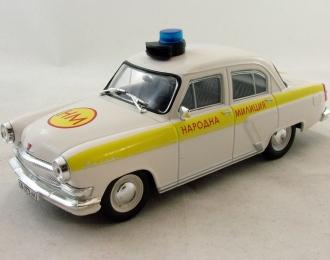 Горький 21  Полиция Болгарии, Полицейские Машины Мира 37, белый
