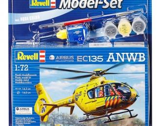 Сборная модель Транспортный вертолет Airbus Helicopters EC135 ANWB (Подарочный набор)