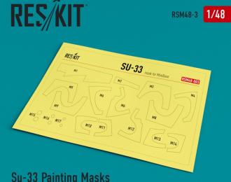 Окрасочная маска для Сухххой-33