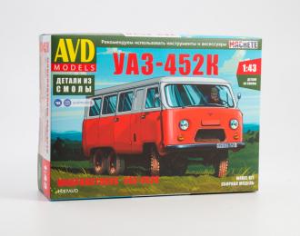 Сборная модель УАЗ-452К