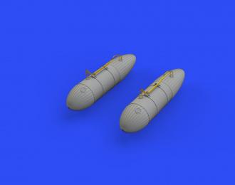 Дополнение к модели P-51D 108gal подвесные баки